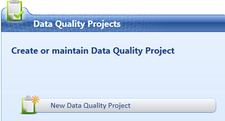 Série: Data Quality Services (DQS) – Data Quality Project